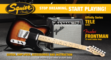 Start playing Affinity Telecaster