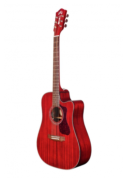 Guild D-120CE Cherry Red